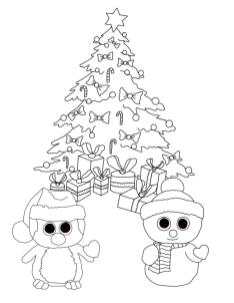 Beanie Boo Coloring Pages for Kids jhb7