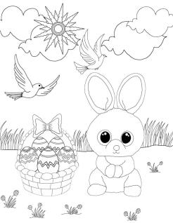 Beanie Boo Coloring Pages for Kids uyh6