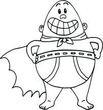 Captain Underpants Coloring Pages Online 556p