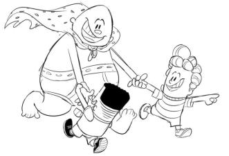 Captain Underpants Coloring Pages Online 558i