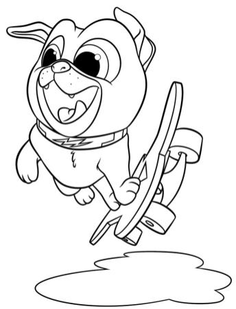 Puppy Dog Pals Coloring Pages Free 8gfc