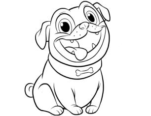 Puppy Dog Pals Coloring Pages for Kids 5vgh