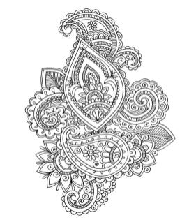 Adult Coloring Pages Paisley 4csm