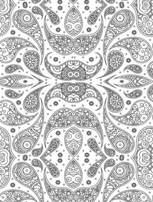 Adult Coloring Pages Paisley to Print 6amz