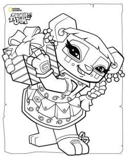 Cute Animal Jam Coloring Pages Free Printable 3cte