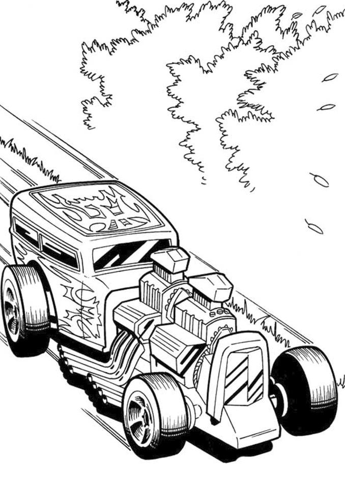 Get This Hot Wheels Coloring Pages Printable 2htr