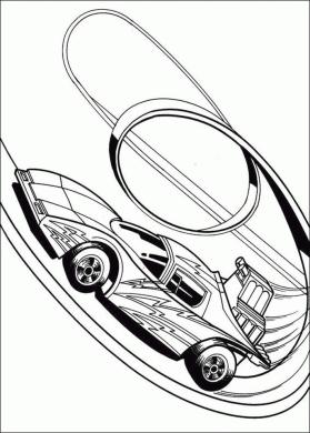 Hot Wheels Coloring Pages Race Car to Print 0lop