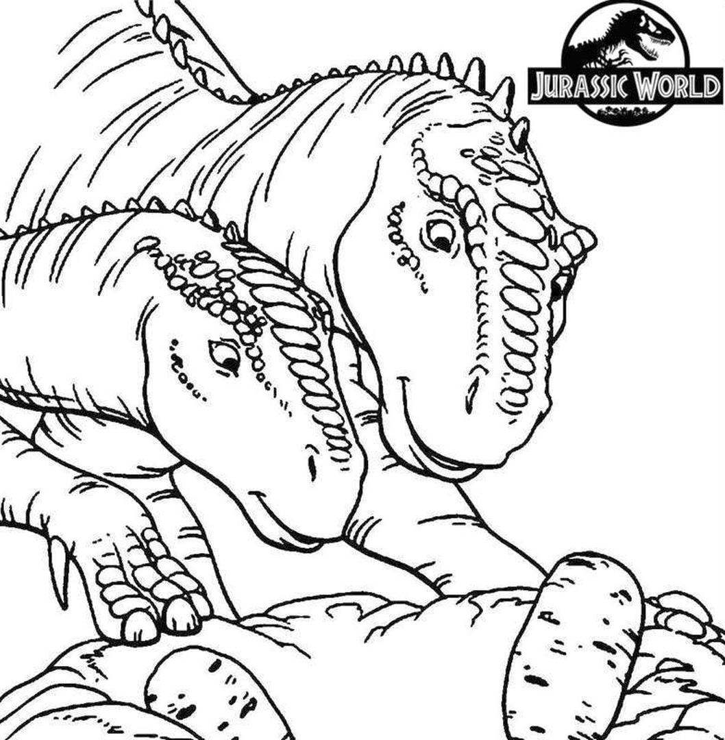 Jurassic World Coloring Pages Dinos Eggs 5gge
