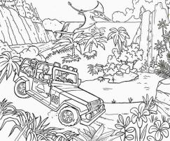 Jurassic World Coloring Pages for Adults 5fad