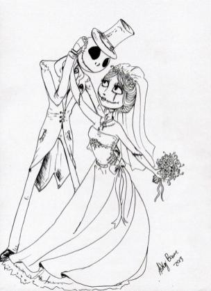 Nightmare Before Christmas Coloring Pages for Grown Ups 3edc