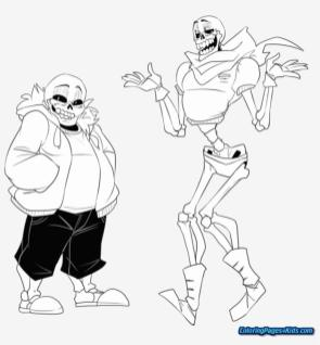 Undertale Coloring Pages Online 1bro