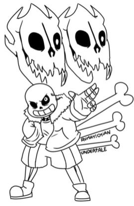 Undertale Coloring Pages Printable fgh7