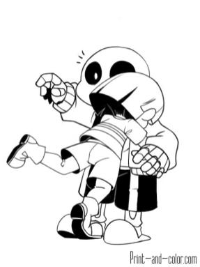 Undertale Coloring Pages wwa5
