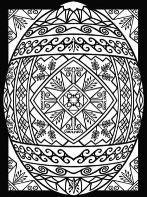 Adult Easter Coloring Pages Adult Printable Easter Egg