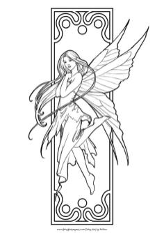 Adult Fairy Coloring Pages 1jq6