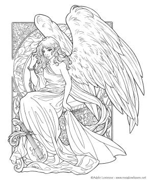 Adult Fantasy Coloring Pages 2wag
