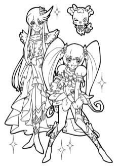 Anime Coloring Pages for Girl 1wdt