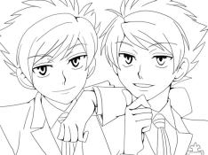 Anime Coloring Pages for Girls Cool Anime Boys