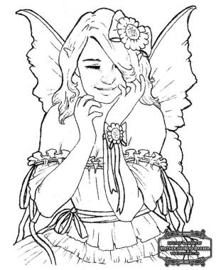 Fantasy Coloring Pages for Adults 0clf