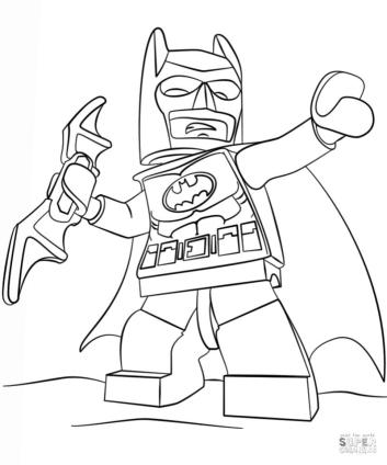 Lego Batman Coloring Pages 1cmf