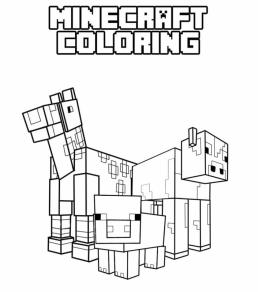 Minecraft Coloring Pages Free Printable 0anm