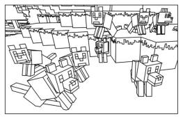 Minecraft Coloring Pages for Kids 5pup