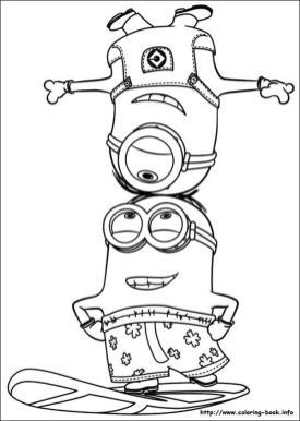 Minion Coloring Pages 2ls3