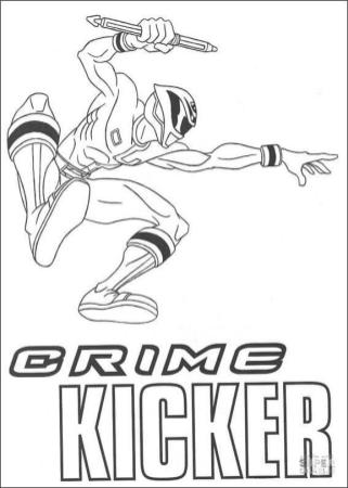 Power Rangers Coloring Pages 3kcz