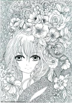 Printable Fantasy Coloring Pages for Adults 4lfg