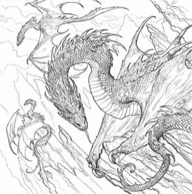 Printable Fantasy Coloring Pages for Adults 5adw