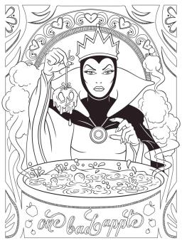 Adult Coloring Pages Disney The Villain from Snow White