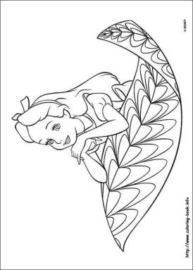 Alice In Wonderland Coloring Pages 1t4l