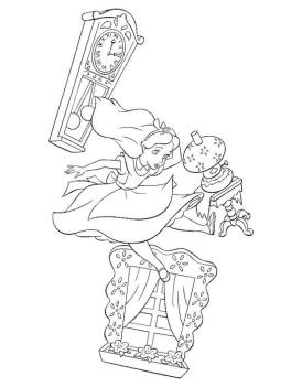 Alice In Wonderland Coloring Pages for Kids 3fw6