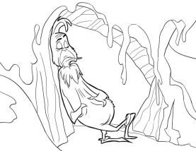 Grinch Coloring Pages for Adults Grinch Living Alone