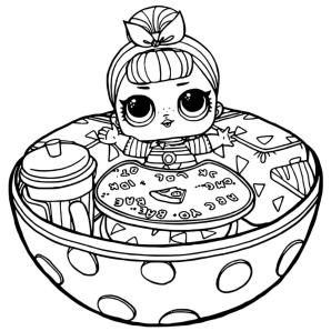 LOL Dolls Coloring Pages for Girls bwl8