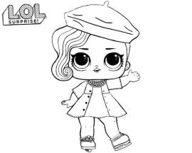 LOL Surprise Dolls Coloring Pages Free dnc7