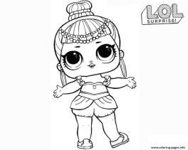 LOL Surprise Dolls Coloring Pages Free gne1