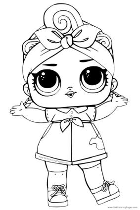 Lol Surprise Doll Coloring Pages Can Do cd30