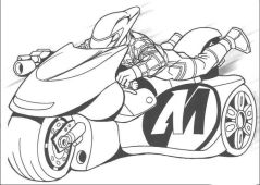 Motorcycle Coloring Pages Free Printable Online