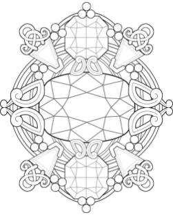 Abstract Coloring Pages Easy d4m0