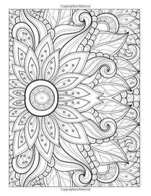 Abstract Coloring Pages Easy s11l