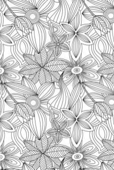 Coloring Pages Cool Designs for Teenagers Abstract Flowers