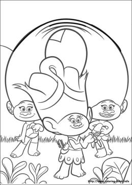 Trolls Coloring Pages for Kids An Artistic Troll