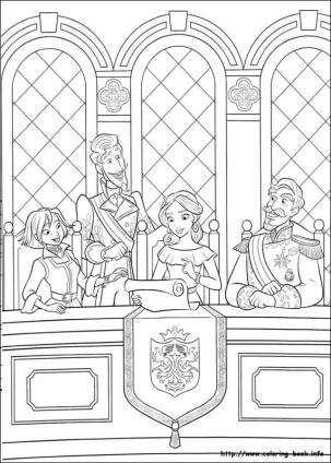 Elena of Avalor Coloring Pages Online Elena Doing Her Princess Work
