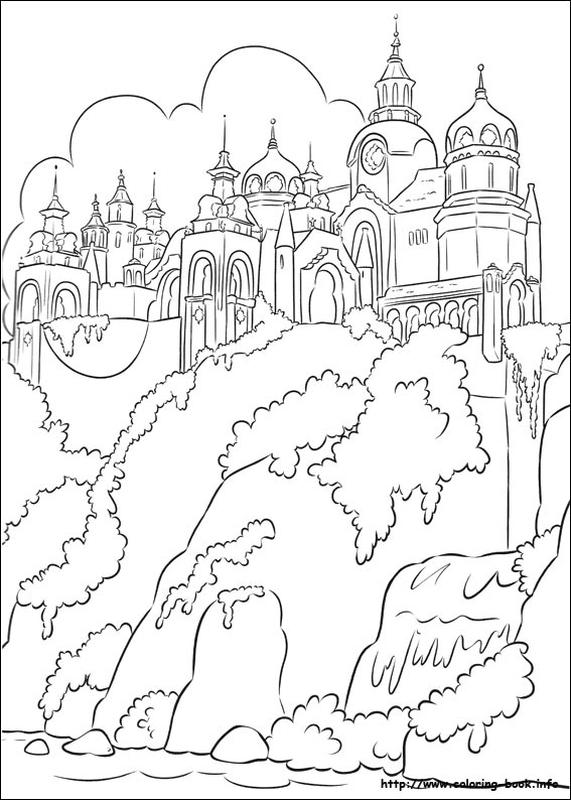 Elena of Avalor Coloring Pages Online The Palace of Avalor Family
