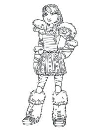 How to Train Your Dragon Coloring Pages Free Astrid Is so Beautiful
