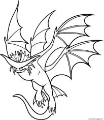 How to Train Your Dragon Coloring Pages for Kids Cloud Jumper