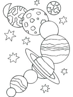 Solar System Coloring Pages atp1