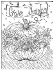 Thanksgiving Coloring Pages for Adult Free Printable Always Give Thanks