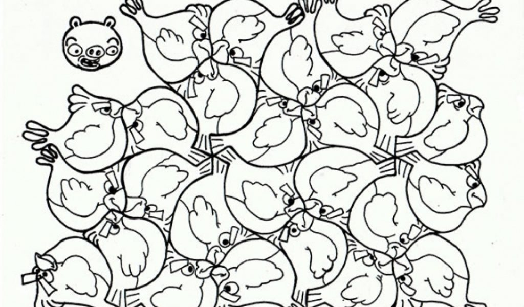 Lizard Tessellation Coloring Sheet Coloring Coloring Pages